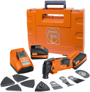 Fein Cordless MultiMaster Tool Q-Start Kit w/ Case