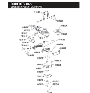 Roberts 10-56 Long Neck Jamb Saw Replacement Parts