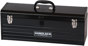 "Gundlach 150 24"" Steel Tool Box"