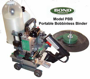 Bond Single Pull Bobbinless Binding Machine