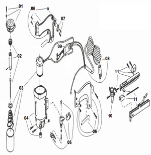 Roberts 10-600 Replacement Parts