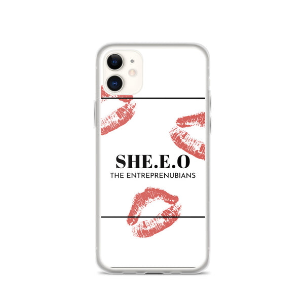 SHE.E.O iPhone Case