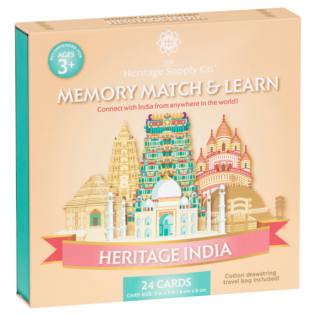 Heritage India Memory Match & Learn Card Game | COMING SOON!