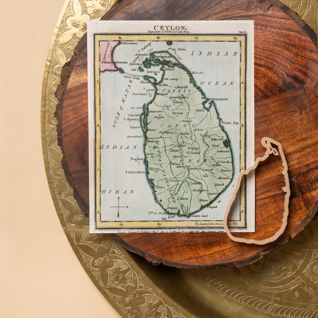 Sri Lanka (Ilankai, Eelam) Country Eco Cutter™