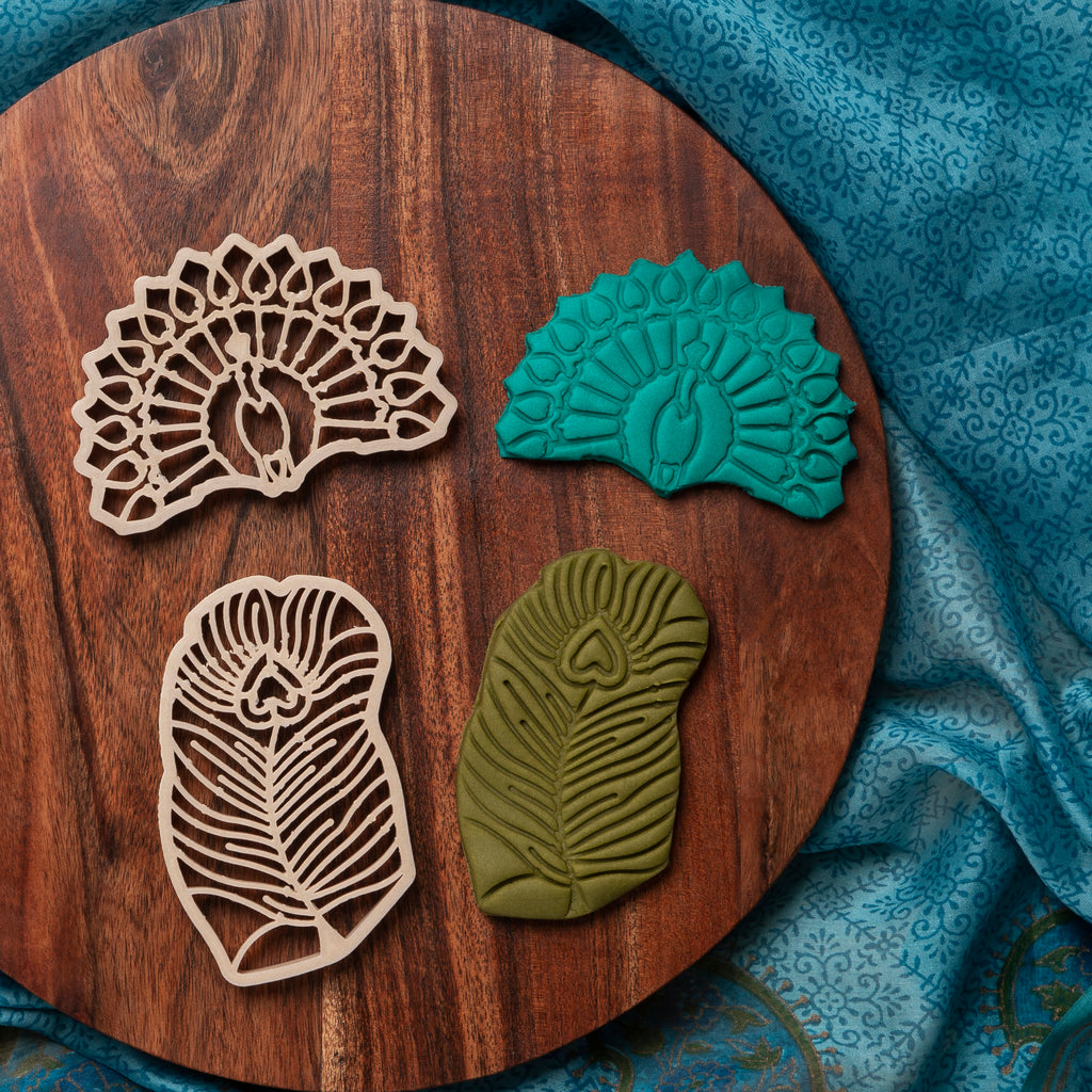 Peacock + Feather Eco Cutter™ Set