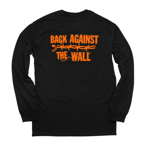 BACK AGAINST THE WALL L/S TEE