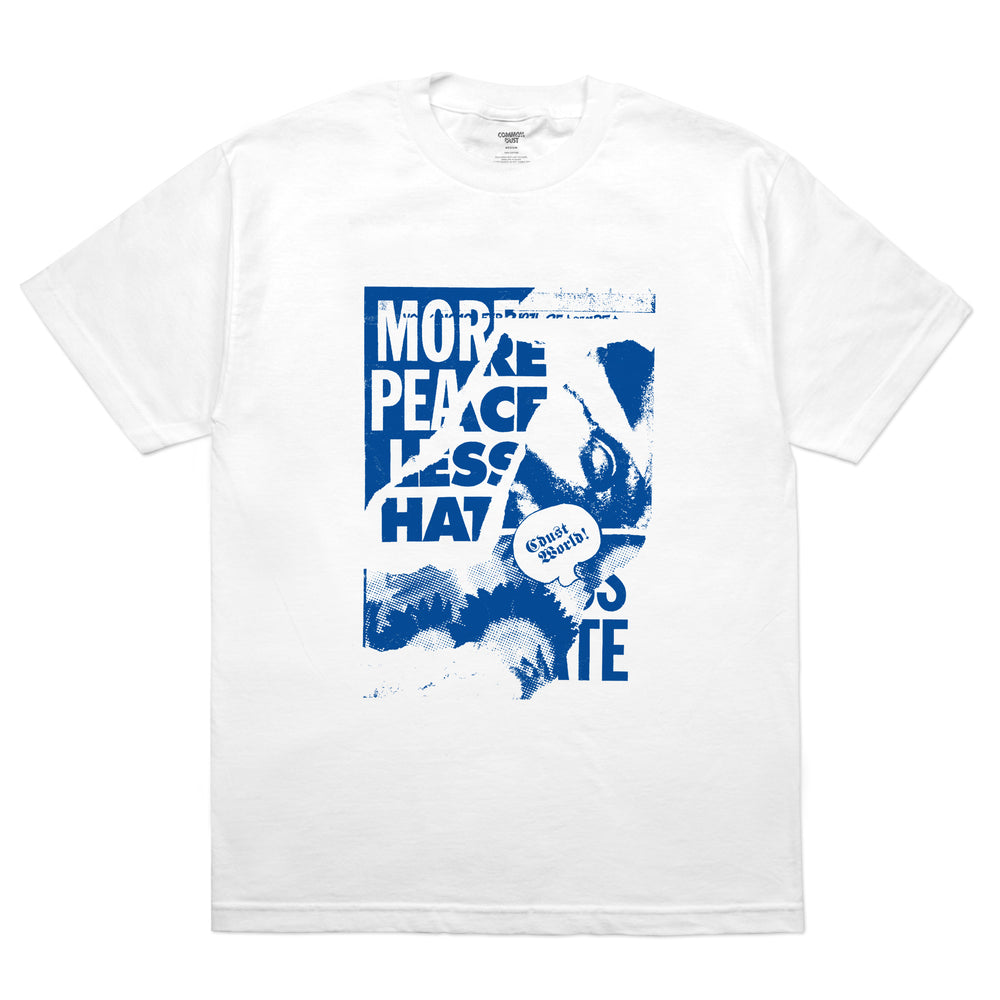 MORE PEACE LESS HATE TEE