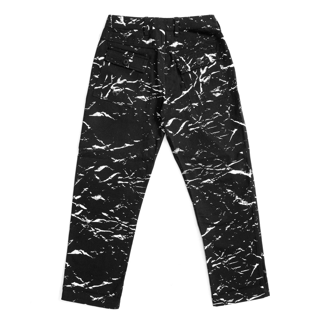 CRUSHED PAPER WORK PANT