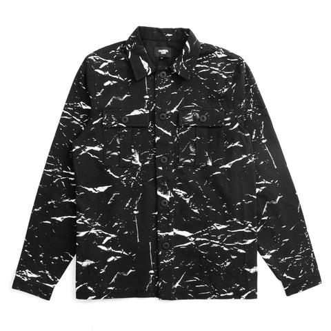 CRUSHED PAPER UNLINED JACKET