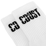 CDUST BLOCK LOGO SOCKS