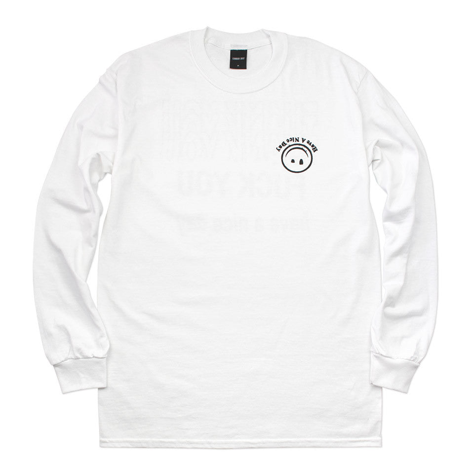 HAVE A NICE DAY L/S TEE