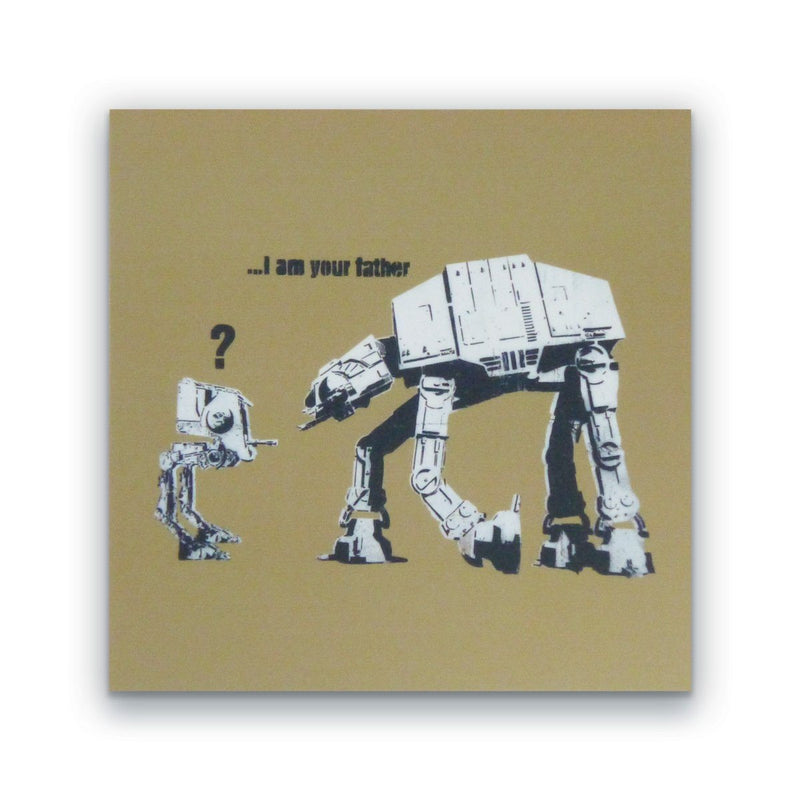 "Banksy ""I am your Father"" Block"