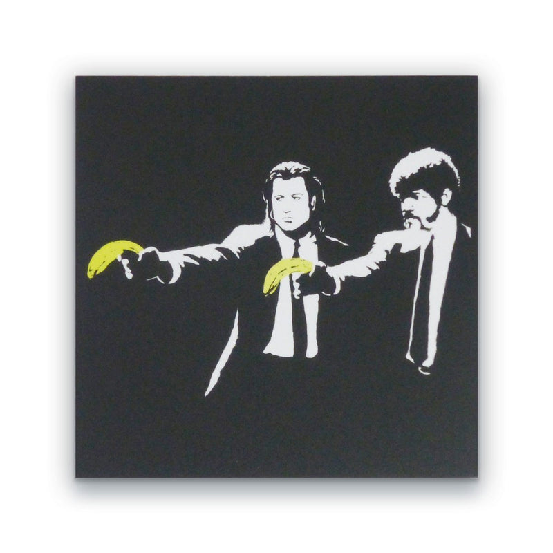 Banksy Pulp Fiction Block