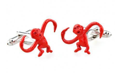 Barrel Monkey Cufflinks
