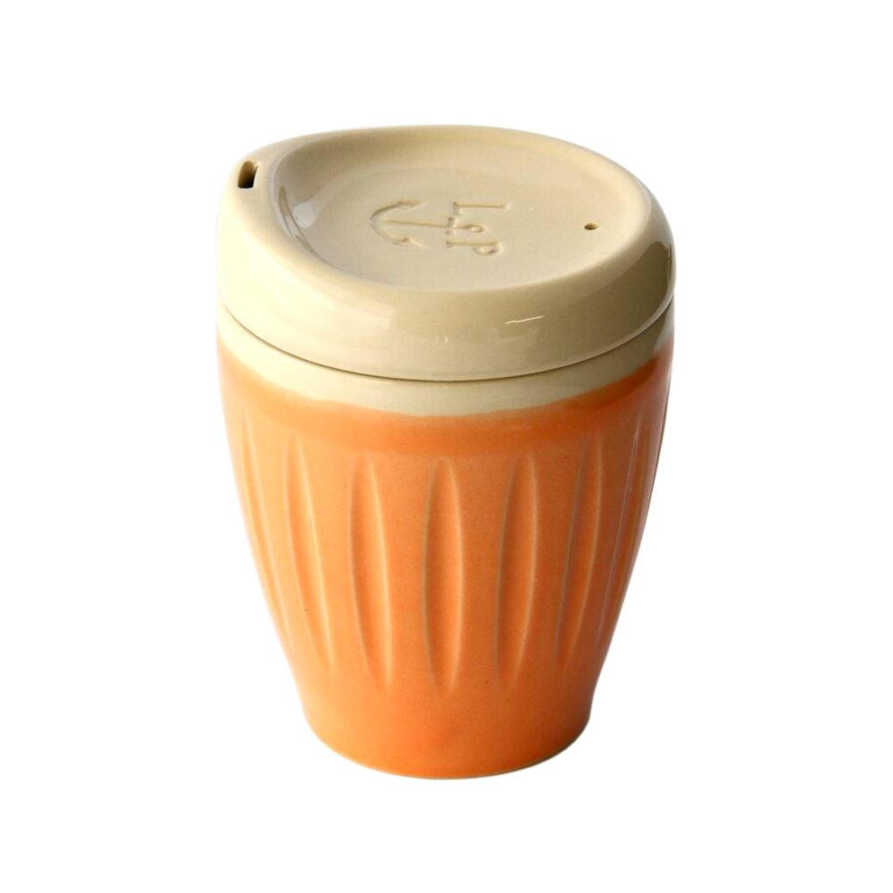 Deksel Cup - regular orange