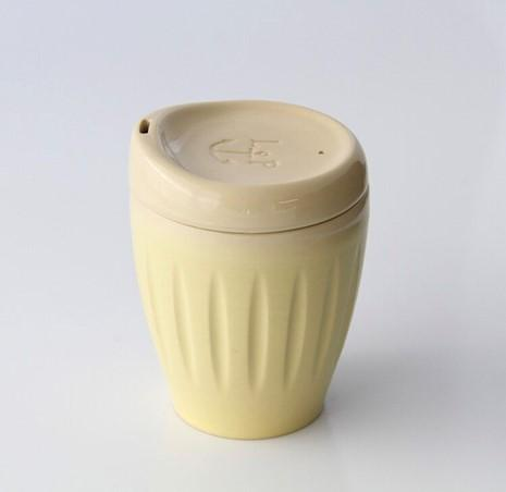 Deksel Cup - regular yellow