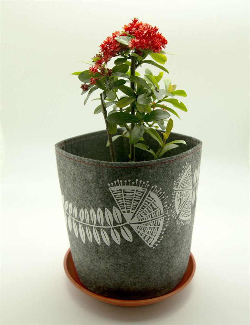 Eco felt Grow Bag - Pohutukawa