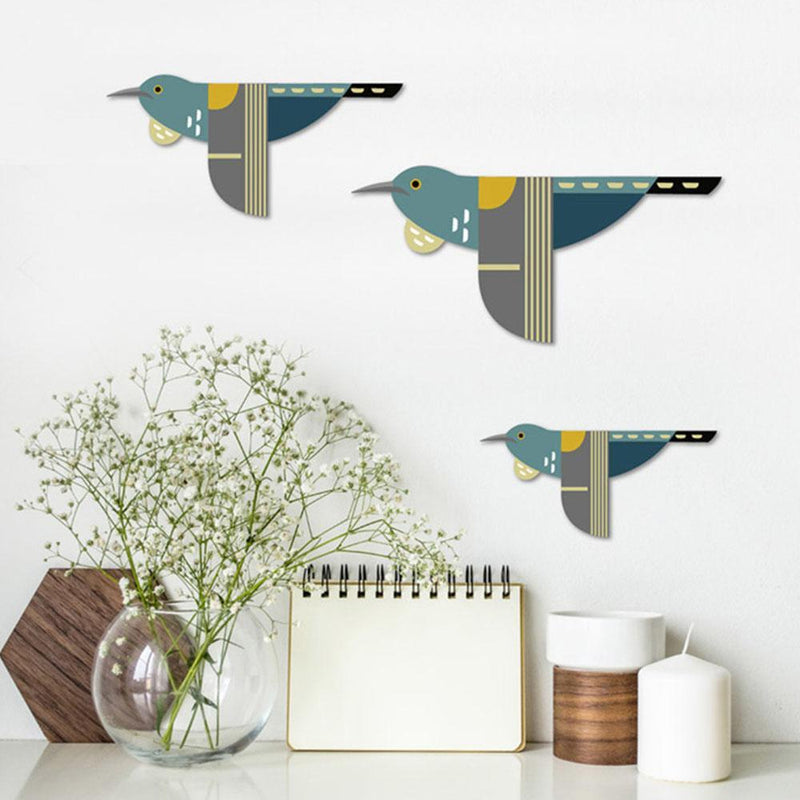 Flying Tui - Set of 3
