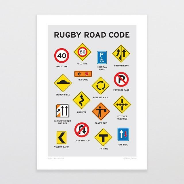 Glenn Jones - Rugby Road Code
