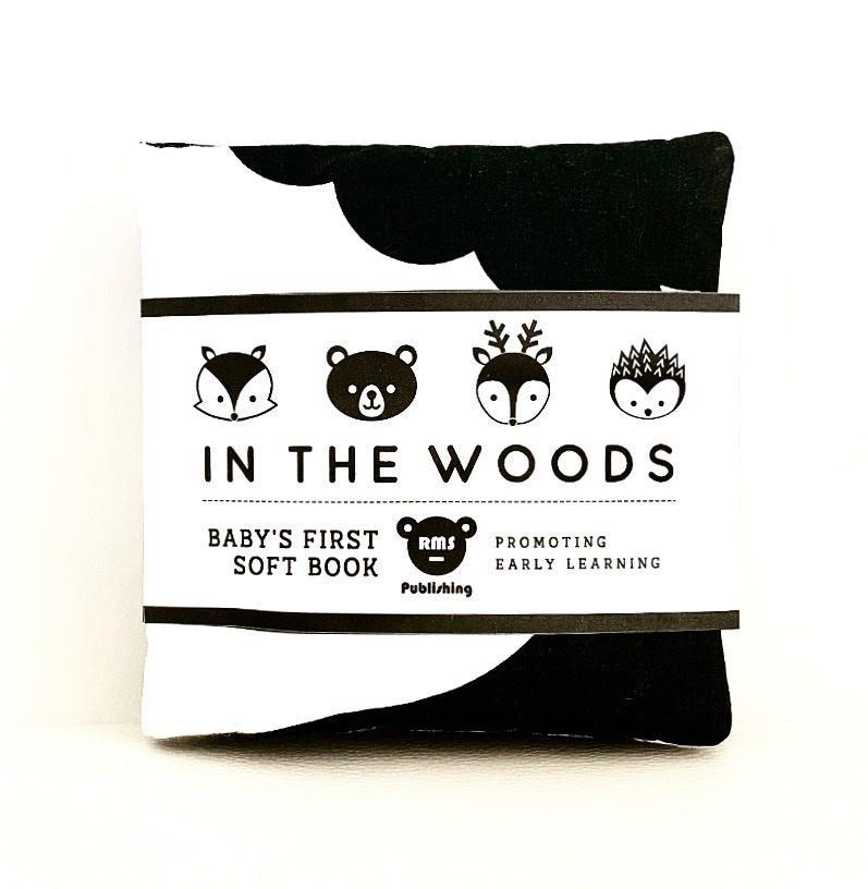 In the Woods - Fold out soft book