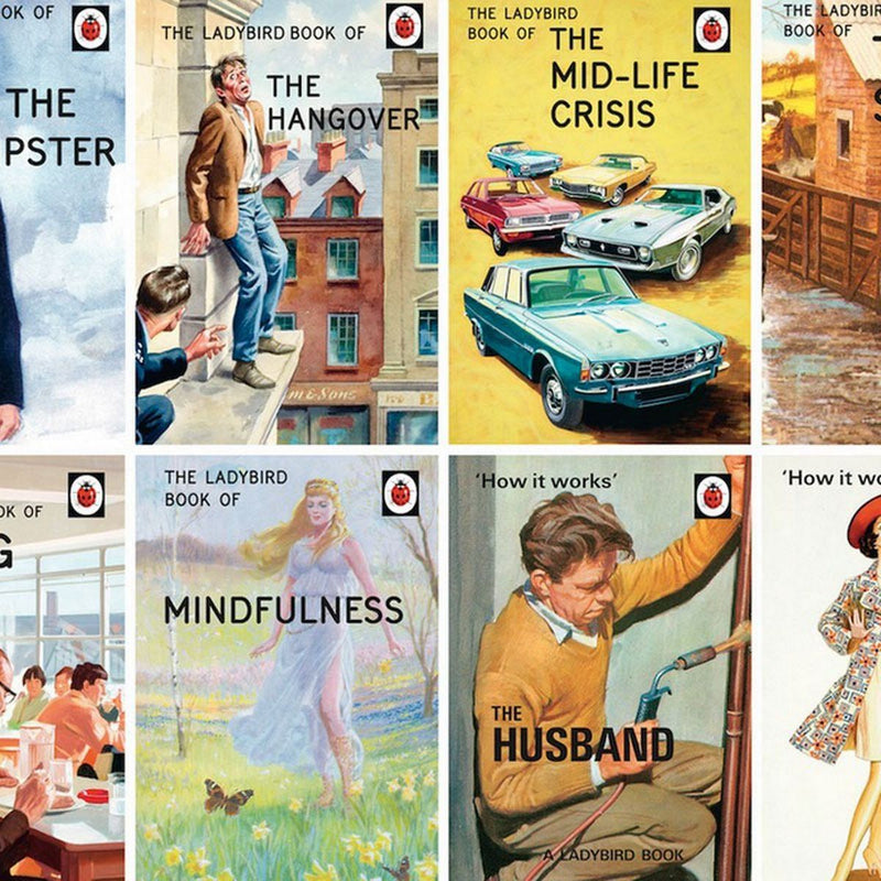 Ladybird books for Grown-Ups