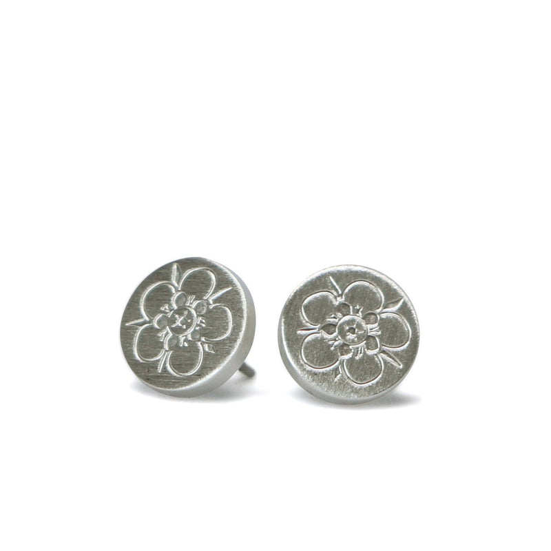 Magical Manuka studs by Keke Silver
