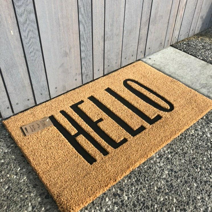 Moana Road Doormat - Hello