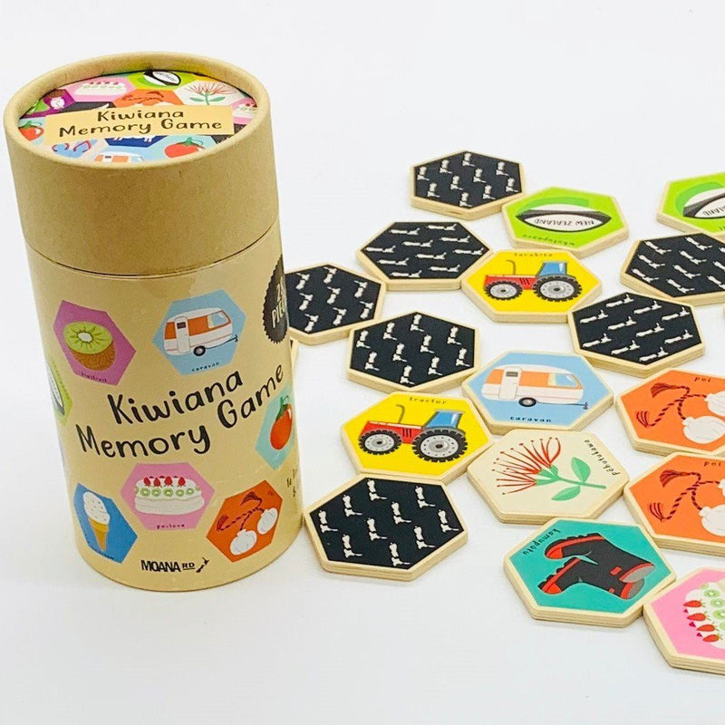 Moana Road NZ Memory Game