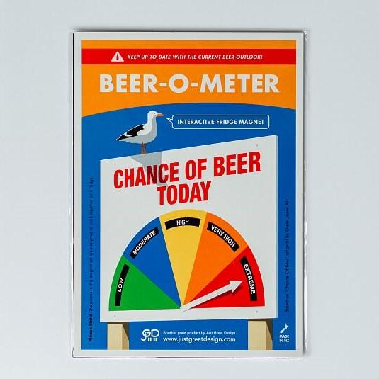 O-Meter Fridge Magnets - large