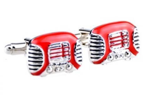 Retro Radio Cufflinks