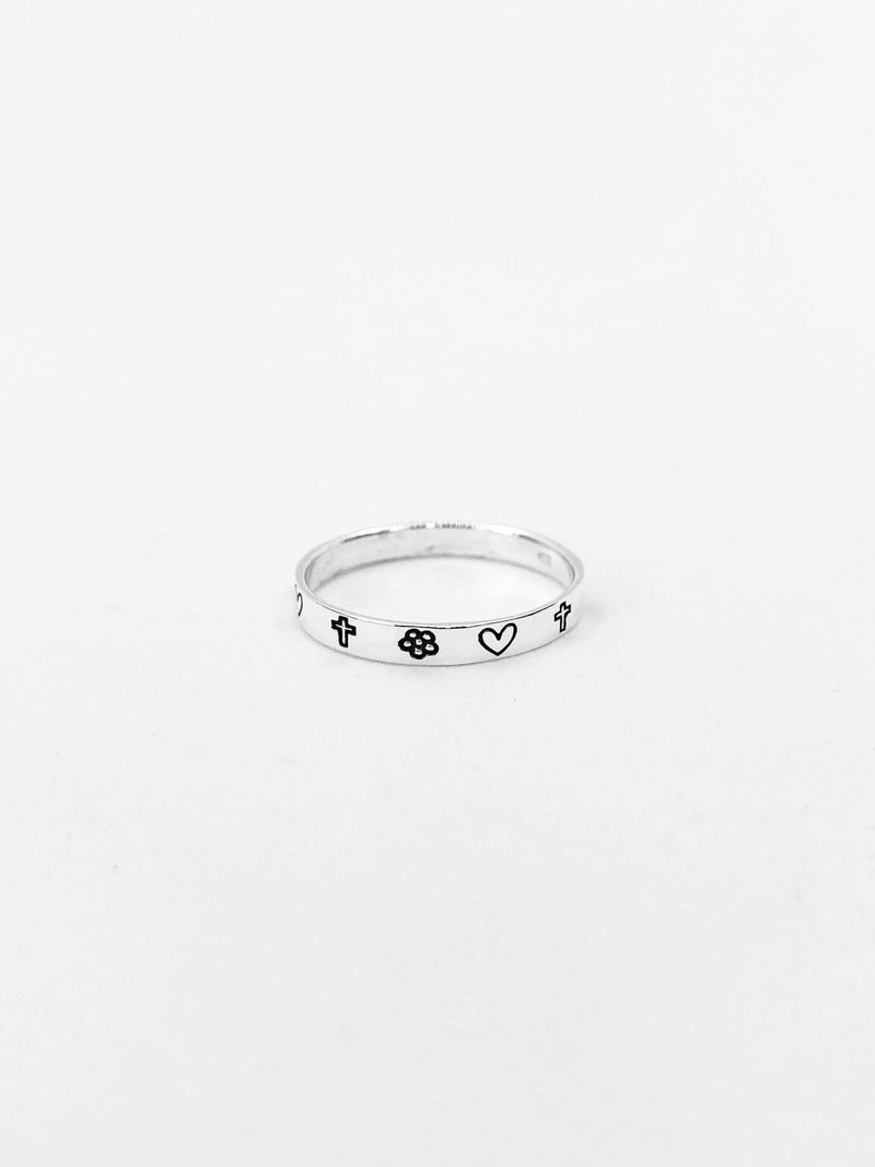 Sterling Silver Stamp Ring