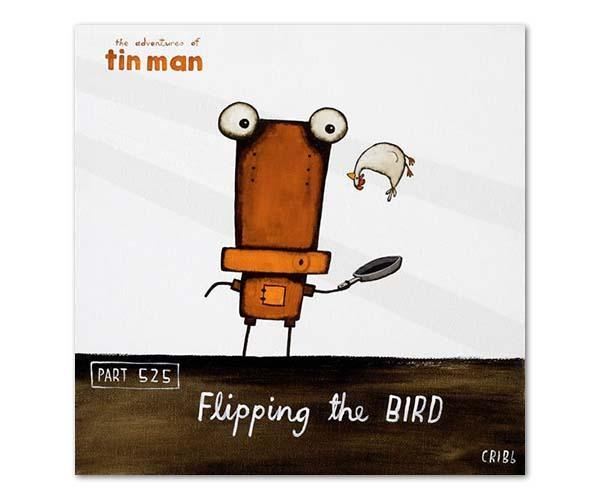 Tin Man - Flipping the bird