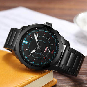 Analog Steel Band Waterproof Quartz Watches