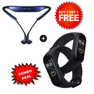 Buy M4 Smart Band & Get Level-U Bluetooth Headset