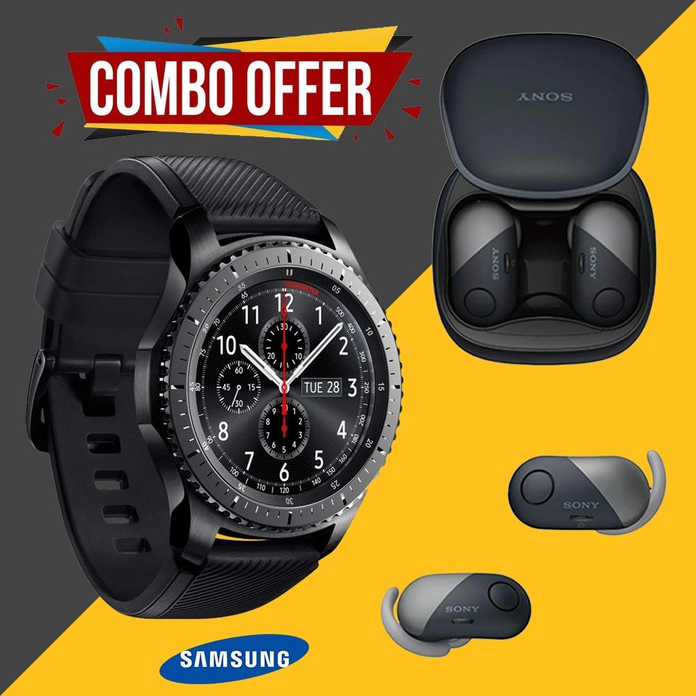 Best Combo Sale  S3 Frontier Smartwatch + wireless earbuds