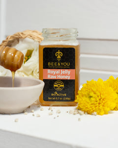 Royal Jelly + Raw Honey