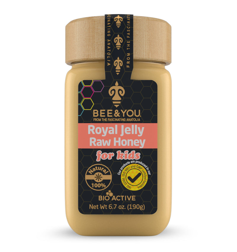 Royal Jelly + Raw Honey for Kids