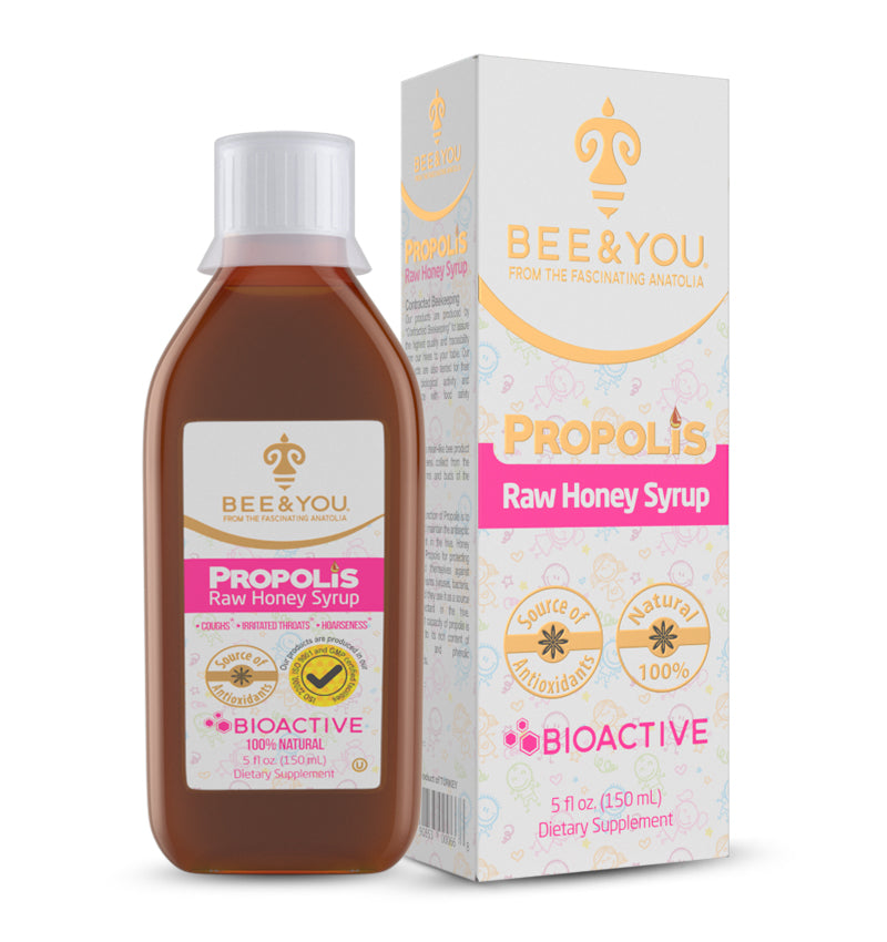 Propolis + Raw Honey Cough Syrup