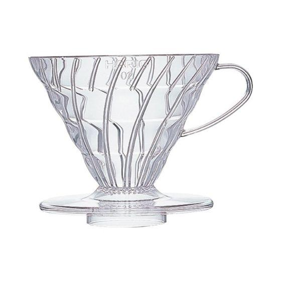 HARIO PLASTIC V60 CLEAR 1-CUP