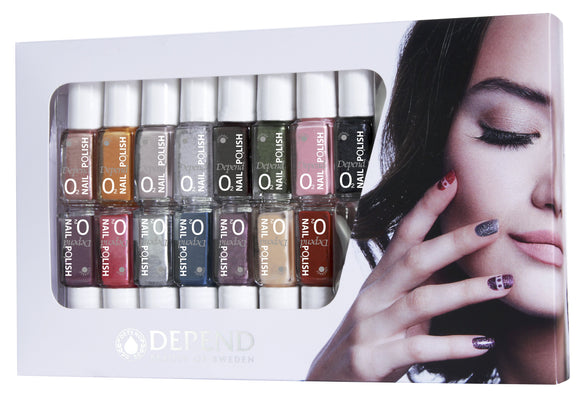 O2 Mini Nail Polish 15-pack