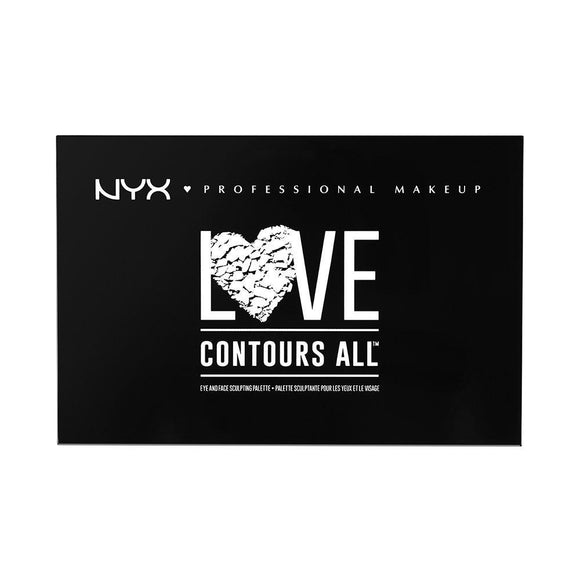 NYX Love Contours All Palette 01 22,82g