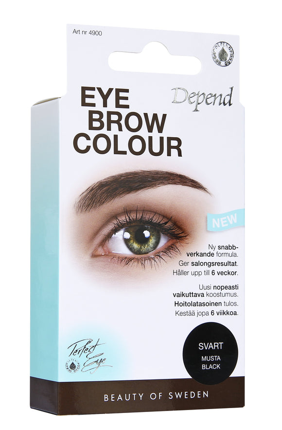 Depend Eyebrow Colour Musta 4900