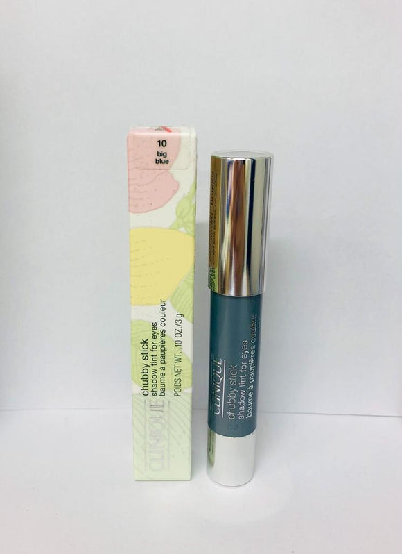 Clinique Chubby Stick Shadow Tint for Eyes 10 big blue