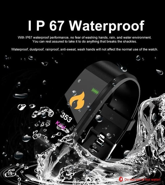 MaxVii™ Best budget Smart & fitness tracker watch for kids, ladies, gym workout, small writs, weight loss & with blood pressure, oxygen and hear rate monitor that's waterproof and stylish (2019-2020)