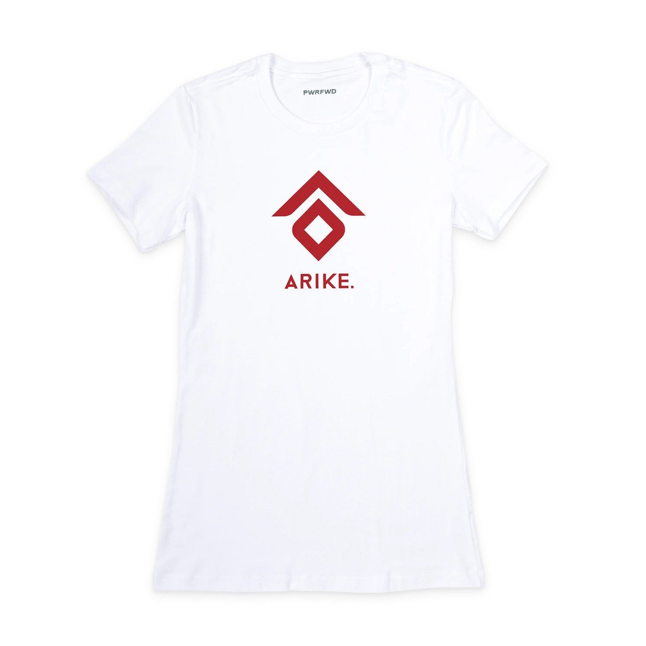 Arike Ogunbowale Fitted T-Shirt White Tee