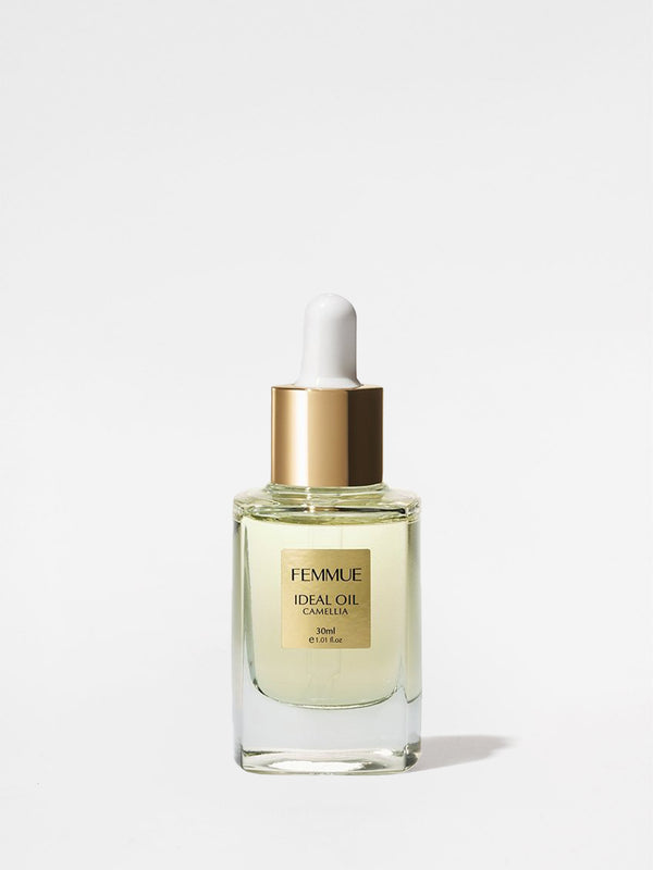 Femmue Ideal Camellia Face Oil Bottle