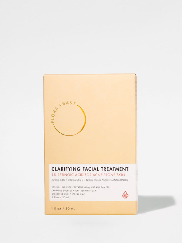 Flora + Bast Clarifying Facial Treatment Box