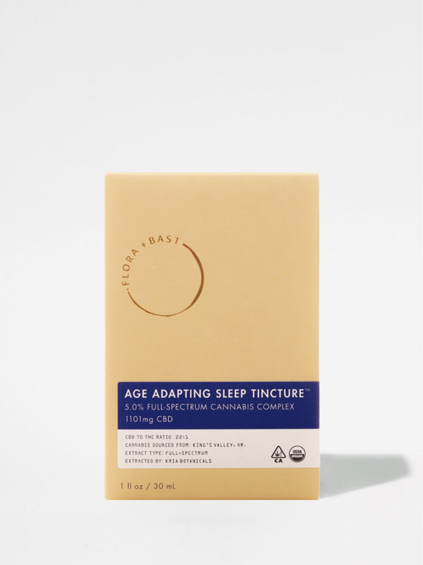 Flora + Bast Age Adapting Sleep Tincture Box