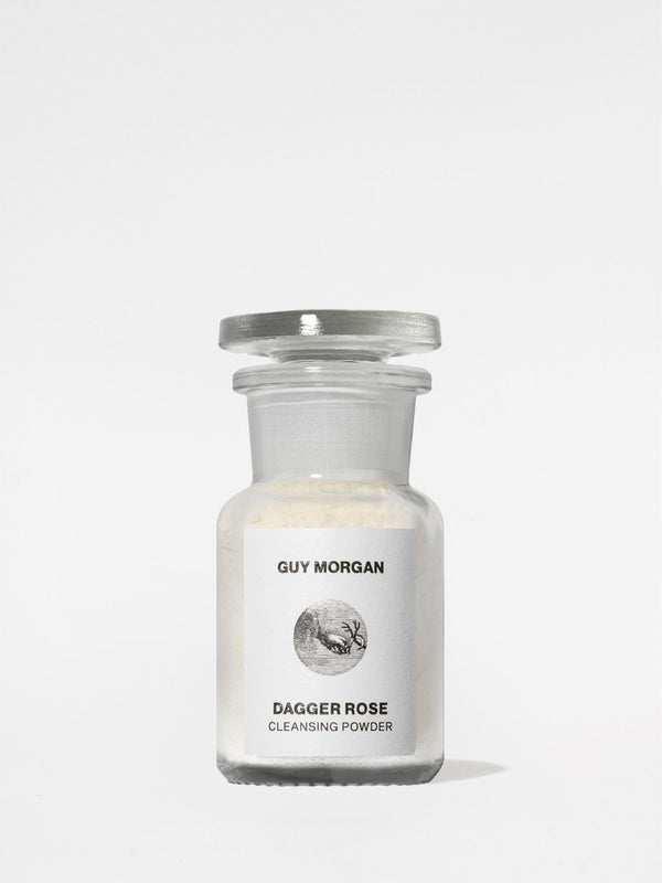 Guy Morgan Dagger Rose Cleansing Powder 1.7oz jar