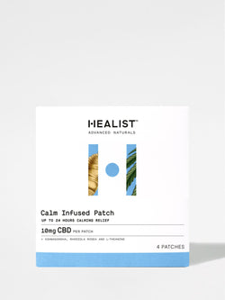 Healist Calm Infused Patch Box Front